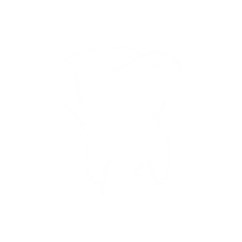 white tooth logo